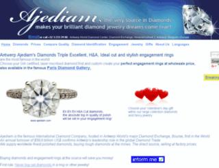 antwerpen-diamant.com screenshot
