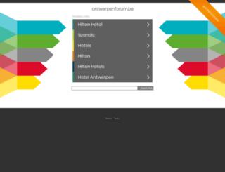 antwerpenforum.be screenshot