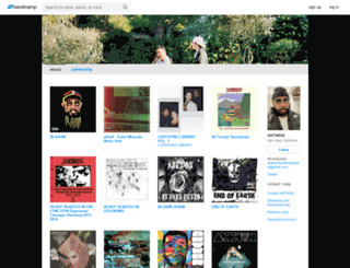 antwon.bandcamp.com screenshot