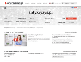 antykryzys.pl screenshot