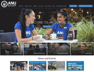 anu-sport.com.au screenshot