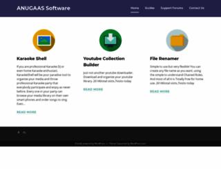 anugaas.com screenshot