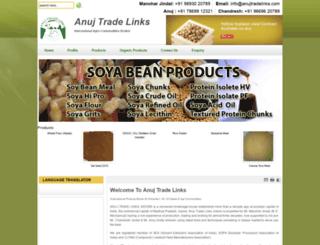 anujtradelinks.com screenshot
