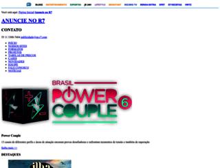anuncie.r7.com screenshot
