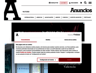 anuncios.com screenshot