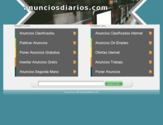 anunciosdiarios.com screenshot
