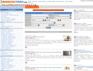 anunciosvideo.com screenshot