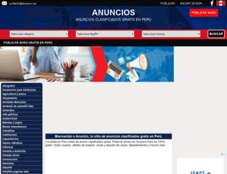 anunico.pe screenshot