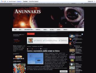 anunnak.blogspot.com screenshot