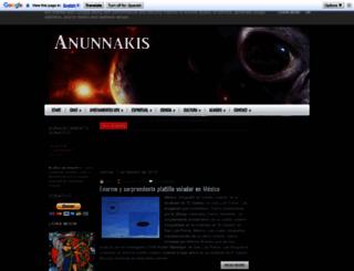 anunnakis.es screenshot