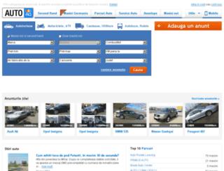 anunt.auto.ro screenshot
