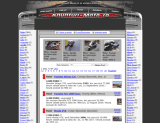 anunturi-moto.ro screenshot