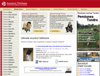 anunturi-telefoane.ro screenshot