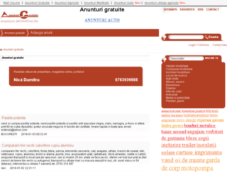 anunturi.micportal.ro screenshot