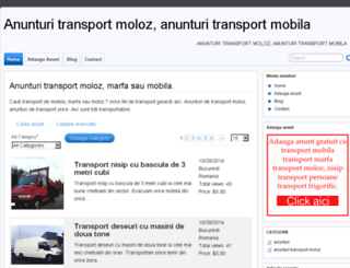 anunturi.transport-moloz.ro screenshot
