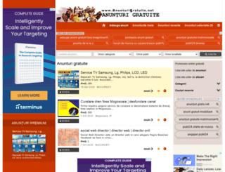 anunturigratuite.net screenshot