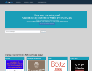 anuo.be screenshot