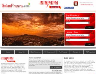 anupamainvestments.com screenshot