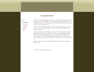 anuragworld.googlepages.com screenshot