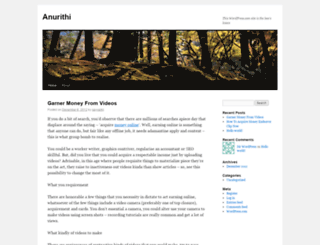 anurithi.wordpress.com screenshot