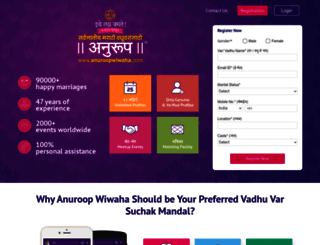 anuroopwiwaha.com screenshot