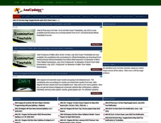 anuupdates.org screenshot