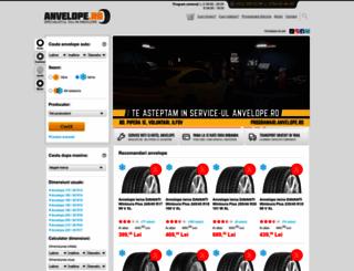 anvelope.ro screenshot