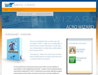 anvillogic.com screenshot