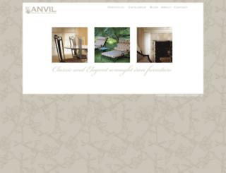 anvilwroughtiron.com screenshot