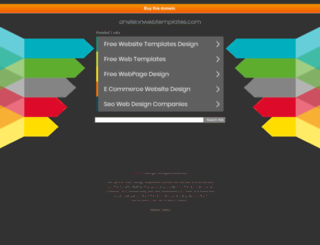 anvisionwebtemplates.com screenshot