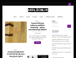 anwa.com.hr screenshot