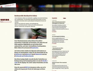 anwalt-im-netz.de screenshot