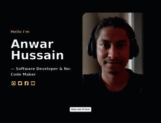 anwar.im screenshot