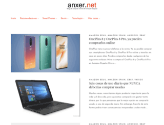anxer.net screenshot