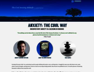 anxietysecrets.com screenshot