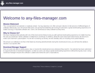 any-files-manager.com screenshot