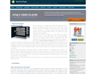 any-flv-player.com screenshot