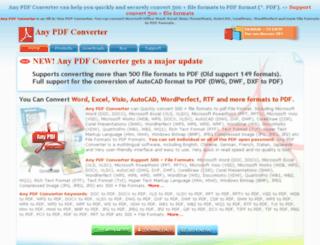 any-pdf-converter.com screenshot