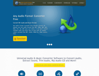 anyaudioconverterfree.com screenshot