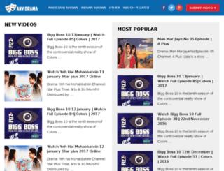anydrama.com screenshot