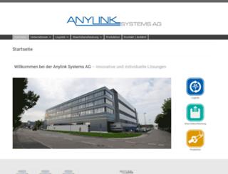 anylink.de screenshot