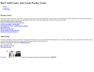 anyloans.weebly.com screenshot