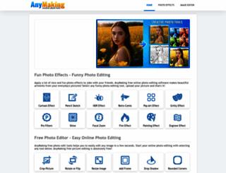 anymaking.com screenshot