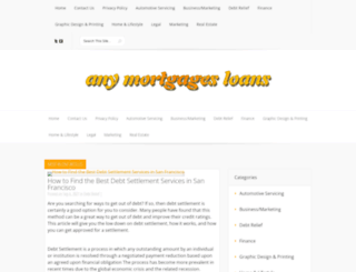 anymortgagesloans.com screenshot