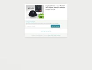 anymote.backerkit.com screenshot