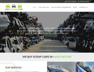 anyscrapcar.co.uk screenshot