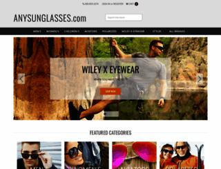 anysunglasses.com screenshot