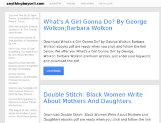 anythingbuysell.com screenshot