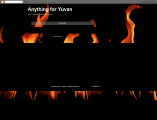 anythingforyuvan.blogspot.com screenshot