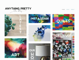 anythingpretty.com screenshot